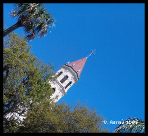 Steeple of Cathedral-Basilica of St. Augsutine