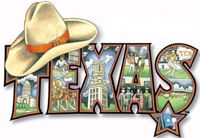 Texas Logo With Hat