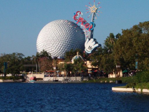 EPCOT during the day.
