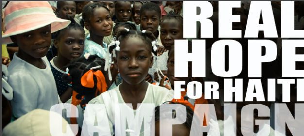 Real Hope for Haiti Campaign