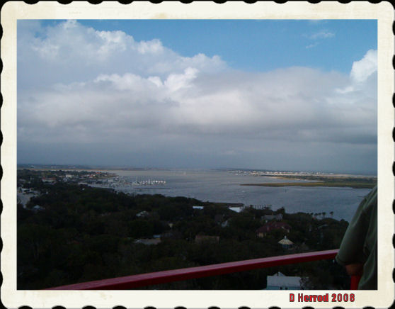 View from the top of the lighthouse