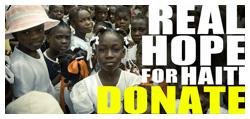 Donate Real Hope for Haiti