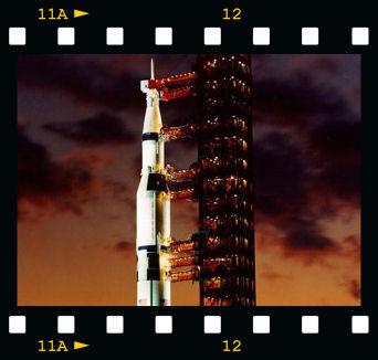 Saturn V Moon Rocket