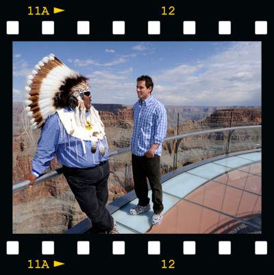 Chris Cuomo talks to Wilfred Whatoname, Jr., a Hualapai Indian tribe member,