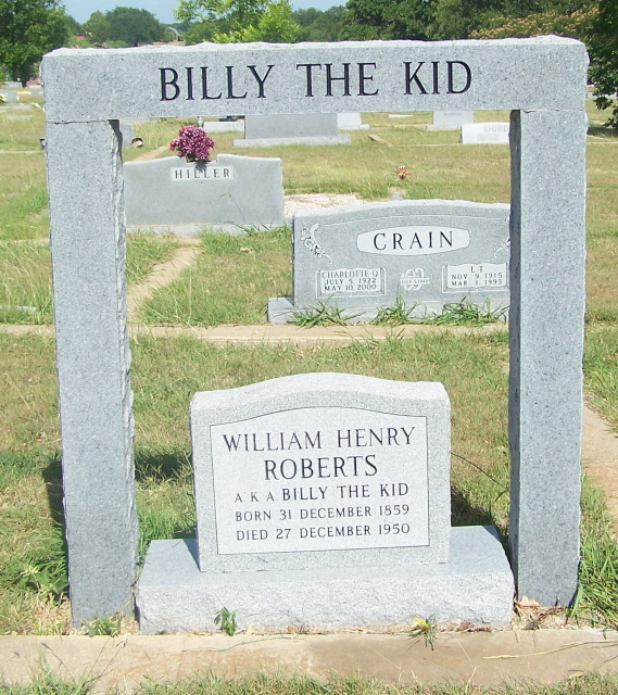 Grave Maker for Billy The Kid