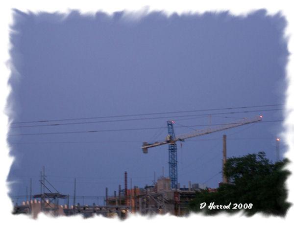 Contruction near Shands UF Hospital
