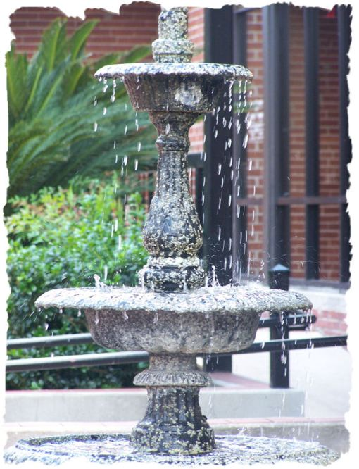 Fountain at the Sun Plaza