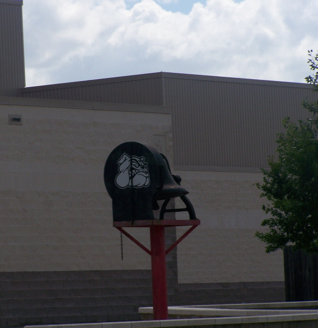 Victory Bell at the High School