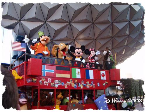 Opening Parade at EPCOT