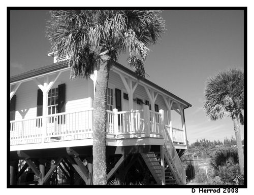 Lightkeepers house.