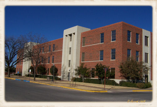 Abilene Hall is where most of my classes were located.