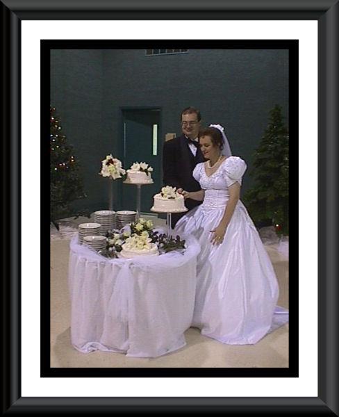 The cake was a white chocolate cake.