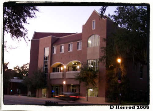 Emerson Hall, Home to the UF Alumni Association.