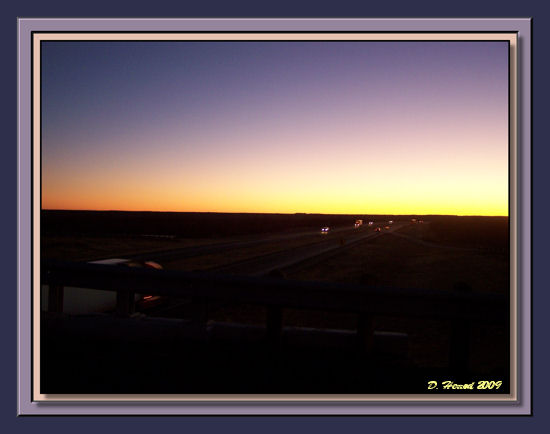 I-20 West between Abilene & Big Spring Texas