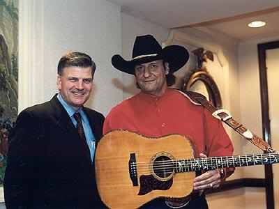 Franklin Graham with Dennis Agajanian