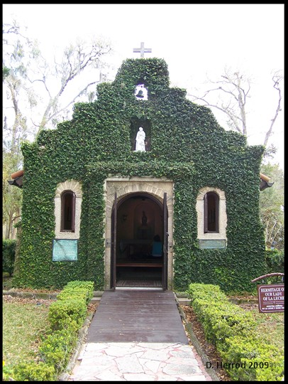 The Chapel of Our Lady of La Leche, 1615.
