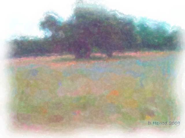Watercolor setting