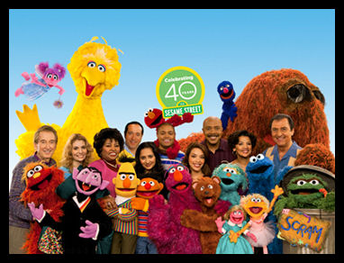 Happy 40th Sesame Street