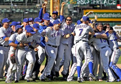 Rangers are the 2010 AL West Division Champs.