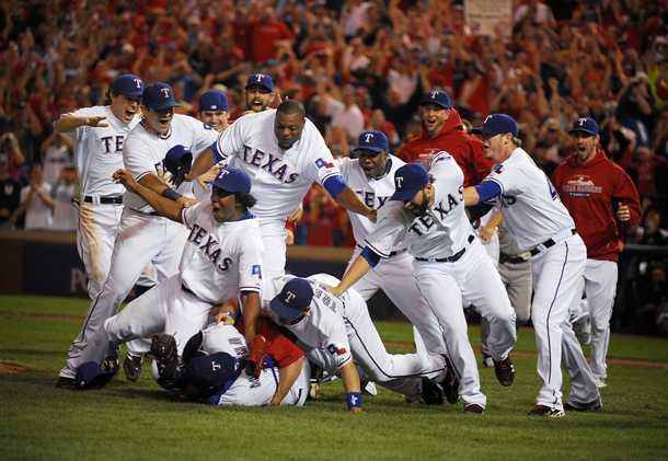 2010 AL Champs Texas Rangers