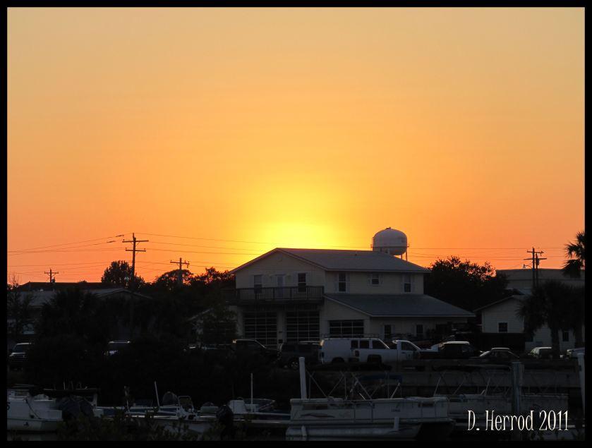 Cedar Key at Sunset