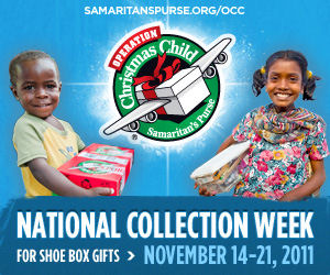 Operation Christmas Child: National Collection Week 2011
