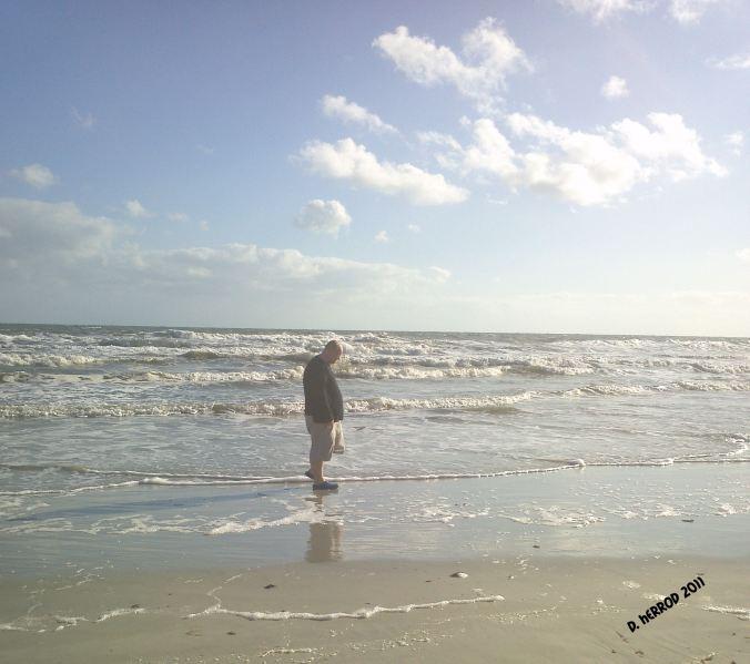 Big Guy on the Beach