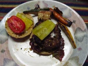 Rosemary Feta Burgers
